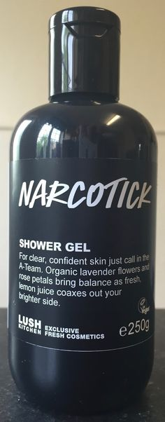 Narcotic , which has also been labelled Narcotick , is a lemon and tea tree scented shower gel that was first released back in ...