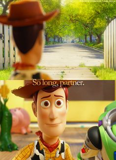 And this is when I lost it. Completely. {and yes, I know this is Pixar}