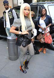 Nicki Minaj Lace Up Boots