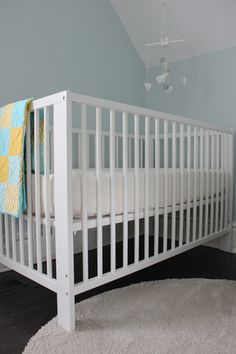 ikea gulliver crib in white