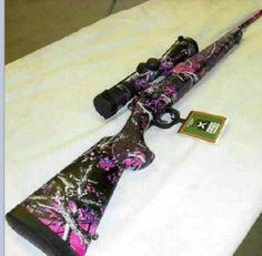 camo guns for women | Pink camo gun. | Hunting Season