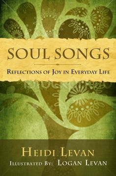 """""""Soul Songs"""" by Heidi Levan - book cover"""