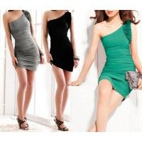 Sleeveless NightClub Bodycon Slim Sexy Women's Short Dress