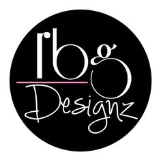 RBG Designz Logo Colors: BLACK: represents authority, coldness, sophistication and targets high end audience. PINK: represents youth; creates a sense of confidence and empowerment. WHITE: neutral color, cleanliness and simplicity. My design style.