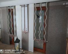 Moderne kreative Gardinen individuellen by GARDINANWELTANGELINA Sliding Curtains, Clothes Hanger, Modern, Etsy Seller, Trending Outfits, Unique Jewelry, Handmade Gifts, Vintage, Home