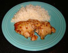 Sticky Coconut Chicken
