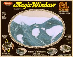 Ah yes the amazing Wham-O Magic Window... We were really easy to entertain weren't we?