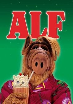 Alf (1986) In this hit sci-fi sitcom, an intergalactic refugee nicknamed ALF (Alien Life Form) crash-lands his spacecraft into the home of Willie Tanner (Max Wright) and his family, who adopt the furry ET (voiced by Paul Fusco) and hide him from busybody neighbors and gung-ho military types. Though he misses his home planet, acerbic ALF finds consolation in feeding his insatiable appetite, chasing cats and indulging one harebrained scheme after another.