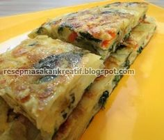 Resep Omelet Telur Sayur Sederhana | Resep Masakan Indonesia (Indonesian Food Recipes)