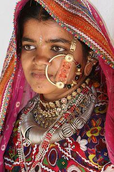 Meghwal tribal people - Kvavda village, Gujarat. #India #people #faces #travel