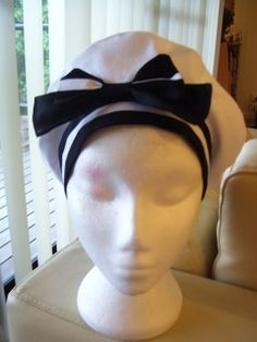 sew_loli: Beret Tutorial (+ instructions to customize it sailor style!)
