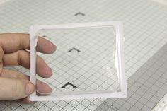 Schüttelkarte / Shaker Card aus Verpackungsresten |Eine MitmachMontag DIY Anleitung von Mel für www.danipeuss.de
