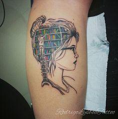 Tattoo livros #rodrigolysboatattoo oriente tattoo studio