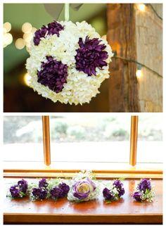 Rustic wedding flowers from rusticweddingchic.com