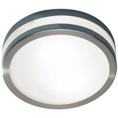 Där Cyro Large Stainless Steel Ceiling Light