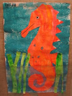 Seahorse | The Clever Feather: Mister Seahorse!