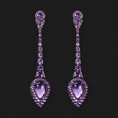 ICHIEN Jewellery  Amethyst Earrings