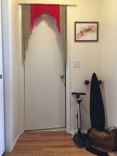 Yarn Fringe Curtain