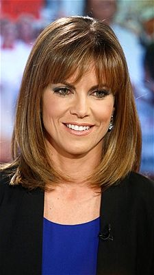 Natalie Morales: NBC News' Today news anchor, Natalie Morales always looks picture perfect and her super-cute blunt bangs shave years off her age.