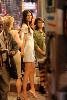 Kendall Jenner - Kendall and Kylie Jenner Promote Their New Line