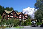 #TeaCollection Grindelwald ski village not to be confused with neighboring town Gimmelwald where cows ride chairlifts!