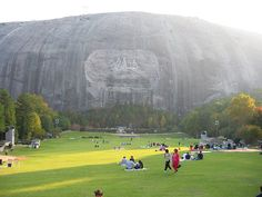Stone Mountain, Ga. We claim the mtn. but its foundation spreads to 5 states.