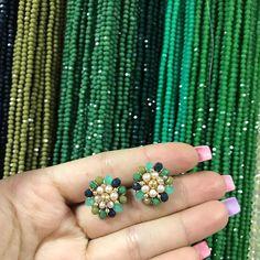 Wire Wrapped Earrings, Beaded Earrings, Pearl Earrings, Pearl Jewelry, Pendant Jewelry, Jewelry Bracelets, Gold Pendant, Diy Art, Jewerly
