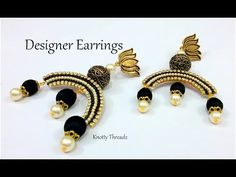 silk thread necklace set - Make money from home - Speed Wealthy Silk Thread Bangles Design, Silk Thread Necklace, Silk Bangles, Thread Jewellery, Diy Jewellery, Jewelery, Buy Earrings, Paper Earrings, Antique Earrings