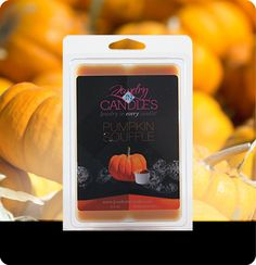 "A true to smell fragrance bursting with fresh pumpkin. This scent is great to get you ""in the mood for fall!"" Mouthwatering notes of butter, sugar, and spices complete this irresistible bakery scent. Pumpkin scented tarts with hidden jewelry.  Jumbo 5.5oz package of 6 scented wax tarts - 100% all natural soy wax tart. Jewelry hidden in every package of scented wax tarts."