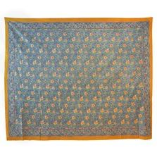 This exotic green & yellow floral print tapestry will add earthy bohemian style to any space. Use it as a wall hanging, tablecloth, bedspread, picnic blanket, and more! Please note: all tapestry measurements are approximate. $32.00