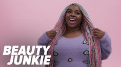 This Woman's Rainbow Braids Are Nothing Short of Magic: Amina Mucciolo has a smile that lights up any room and a personality that keeps you smiling, too.