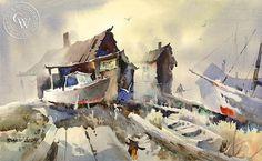 Boat Repair by Rpbert Landry