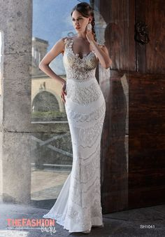 The wedding gown collections of Julien Mattionare a glamorous fusion between classical and modern styling, that give our brides a fresh and feminine appearance with a bit of a romantic touch. Plea…