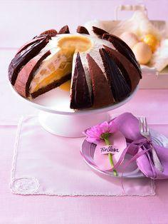 Eierlikör-Bananen-Kuppel - Eine cremige Torte mit Bananen und Eierlikör zu Ostern oder anderen Feiertagen