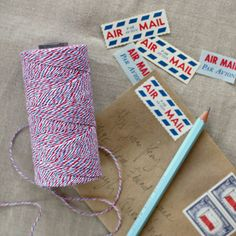 airmail bakers twine