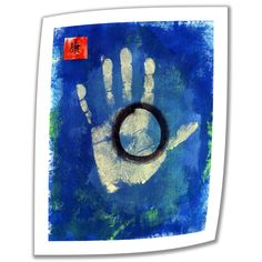 'Health Hand Print' by Elena Ray Photographic Print on Canvas Poster