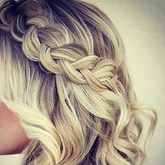 Get this stunning look with @pbhairuniverse Plait Hairbands that are coming soon... #inspo #instahair #plait #blonde #curls