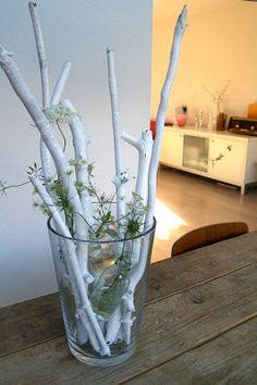 Studio Neeltje: Styling idee # 001 : glaasje in vaasje, minibloems...