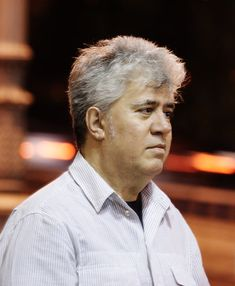 Spanish film director Pedro Almodóvar,