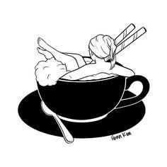 #cappuccino bath ☕️ 겨울엔 목욕&카푸치노 #dailylife #winter #mood