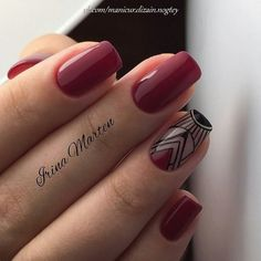 Foto Dope Nails, Red Nails, Nail Art Tribal, Latest Nail Art, Nail Tattoo, Perfect Nails, Nail Arts, Short Nails, Nails Inspiration