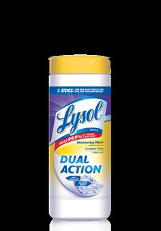 What would I do without Lysol disinfecting wipes??