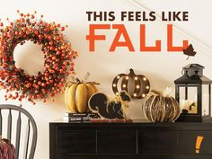 shop fall decor at big lots from wreaths to pumpkin decorations including glass and ceramic pumpkins and woodland creatures - Big Lots Halloween Decorations