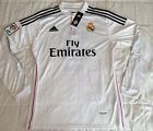For Sale - Real Madrid Home Long Sleeve Soccer Jersey for #7 Cristiano Ronaldo size Large  - See More at http://sprtz.us/MadridEBay