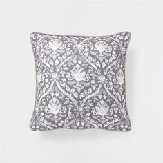 LEAF PRINT LINEN CUSHION - Decorative Pillows - Decor and pillows | Zara Home United States