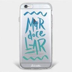 Capinha para celular Mar Doce Lar