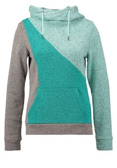 Strickpullover - grey/turquoise