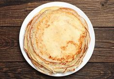 Fillings for pancakes Crepe Delicious, Sem Lactose, Cake Flour, Pancakes, Bakery, Brunch, Food And Drink, Cooking Recipes, Yummy Food