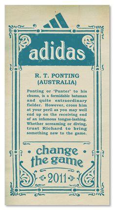 Adidas+ +Ricky+Ponting+Australia+World+Cup+2011+Campaign Adidas and Pepsi Cricket World Cup 2011 Campaign Posters
