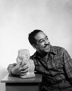 Langston Hughes  1902-1967 Poet, writer, journalist Left: circa 1950s